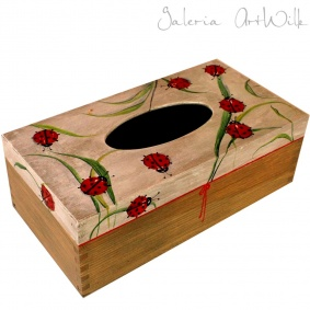 "Tissue box ""Ladybugs"""