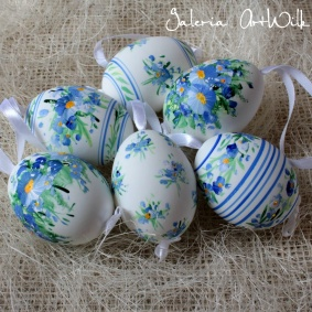 6 Duck easter eggs