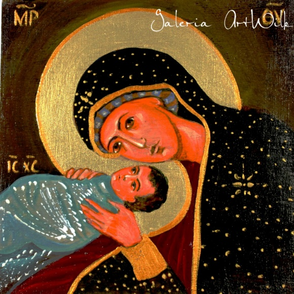 Icon - Blessed Virgin Mary