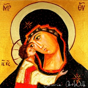 Icon - Mother of God with Child