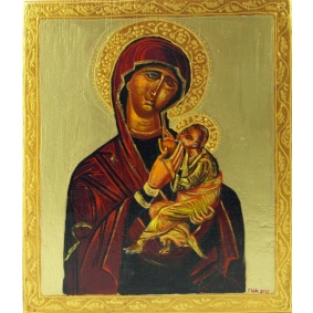 Icon - A nursing Mother of God - on order