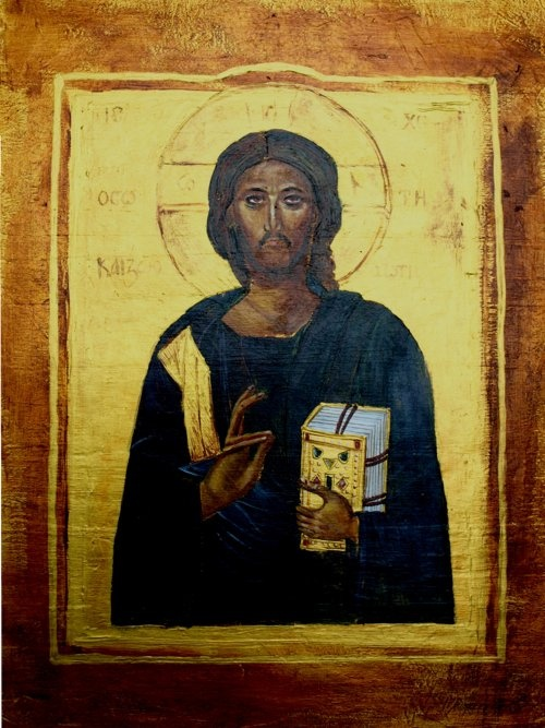 Icon-Christ Pantocrator-on order