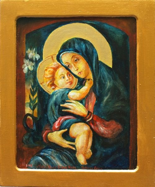 Icon - Mother of God good counsel-on order