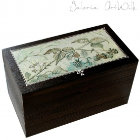 "Wooden box - ""Italiana"""