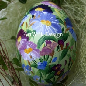 Wooden easter egg 34 / 1 / 1