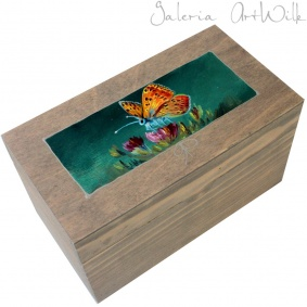 "Wooden box ""Butterfly"""