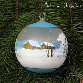 Hand painted glass ball 8 / 32 / 256