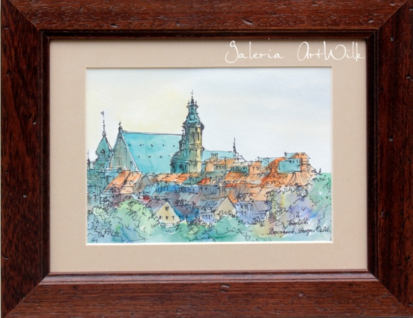 """Panorama of the Old Town"""