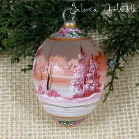 Hand painted glass egg 31 / 761